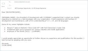 Email As Cover Letter Short Email Cover Letters Email Cover Letter
