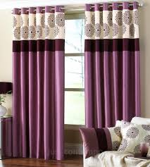 Curtains Clarimont Purple Plum Designer Lined Curtains Plum Purple