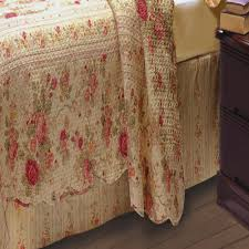 Greenland Home Antique Rose Bed Skirt, Twin, Full, Queen Or King –  closeoutlinen