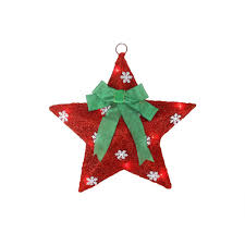 Lighted Holiday Bow Northlight 17 Lighted Red And Green Sisal Hanging Christmas