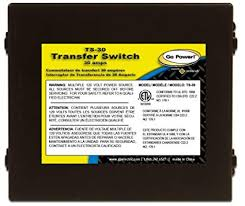 amazon com go power ts 30 30 amp automatic transfer switch automotive go power ts 30 30 amp automatic transfer switch