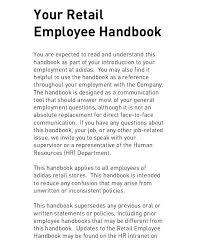 Free Employees Handbook Employment Manual Template Luxury Free Employee Handbook For Small