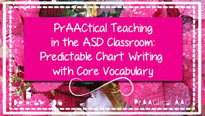 Predictable Chart Praactical Teaching In The Asd Classroom Predictable Chart