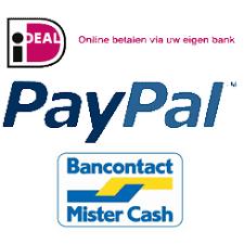 Afbeeldingsresultaat voor logo ideal paypal bancontact