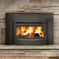 napoleon oakdale epi3 wood burning fireplace insert w cast iron surround and door