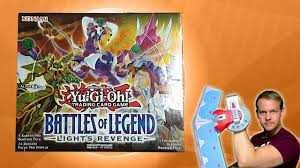 Battles Of Legend Light S Revenge Yugioh Battles Of Legend Lights Revenge Display Opening Unboxing Deutsch