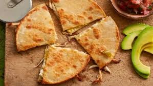 mexican food cheese quesadillas. Delighful Cheese Photo Of Chicken Chilli And Cheese Quesadillas On Mexican Food E
