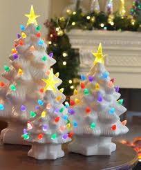 Christmas Tree Lights Amazon Amazon Com Mr Christmas 10 Inch Nostalgic Porcelain Led