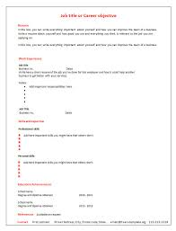 Free Resume Template Download 7 Free Blank Cv Resume Templates For
