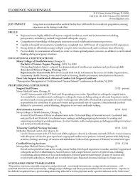 Example Of Registered Nurse Resume Awesome Staff Nurse Resume Example Always Learning Pinterest Resume