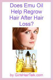 emu oil hair loss benefits list does