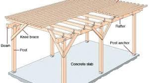 simple deck plans free sampler standing ground level decks blueprints second building a r53