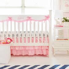 crib rail guard set pink perless crib collection