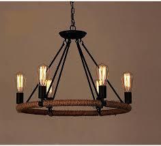 cheap vintage lighting. Chandeliers Vintage Retro Bulb Black Iron Chandelier Dining Room Lighting Cheap E