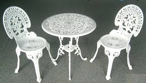 white wrought iron furniture. Wrought Iron Garden Furniture Astonishing White Patio Decor Of Decorating Suggestion Popular Cast Outdoor Antique .