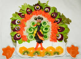 Salad Decoration Designs
