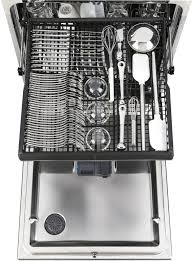 third rack dishwasher. GE Third Rack Easily Clean An Entire Flatware Collection Knives And Small With Dishwasher