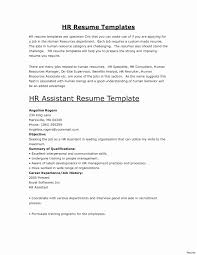 Resume Template For Restaurant Simple Resume For Restaurant Unique