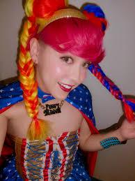 ぺえ Pe Twitter 今日もワンダーウーマン 髪型フィッシュボーン