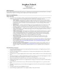 Resume Sample For Production Manager Free Resume Example And