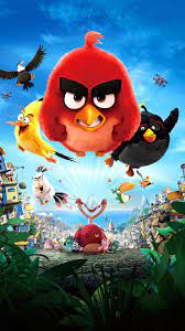 The Angry Birds Movie (2016) Phone Wallpaper