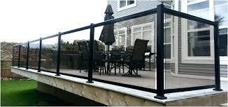 deck railing kits glass deck railing systems full size of glass railing kit inspiring glass deck railing