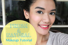 fresh natural makeup tutorial indonesian sub dxb makeup tutorial
