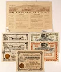 Stock Certificats Arizona Mining Stock Certificates And Promotions Lofty Marketplace