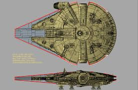 Cgi Render Of The Falcon From Solo A Star Wars Story With