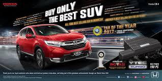 Honda CRV Turbo mendapatkan penghargaan dari masyarakat indonesia
