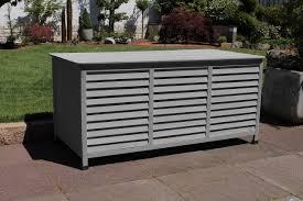Auflagenbox Vintage 3 Farben Kissenbox 130 Cm Holz Deckel Wasserdicht Lc Box