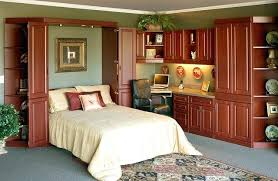 murphy bed office desk. Murphy Bed In Office Home Wall With Desk .