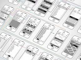 19abbc29beecdea4917bd1edc3409e74 279 best images about wireframes on pinterest app design, app on android design templates psd