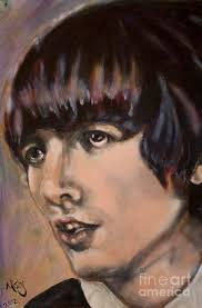 George Harrison 1 Painting by Misty Smith
