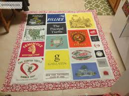 T-Shirt Quilting BASICS! {Tutorial} | Wee Share & This quilt has all SORTS of sized t-shirts included in it. This was mainly  to accommodate that HUGE yellow t-shirt in the top right hand corner ... Adamdwight.com