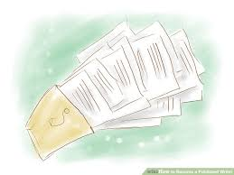 ways to become a published writer wikihow image titled become a published writer step 10