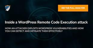 wordpress remote code execution