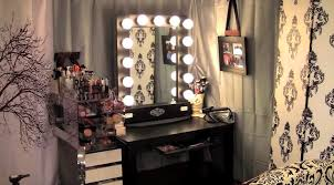 small vanity mirror with lights. complete the bedroom decoration with vanity : gorgeous design for girl black white storage small mirror lights m