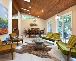 Enchanting Mid Century Modern Living Room Exterior About Interior Designing  Home Ideas With Mid Century Modern