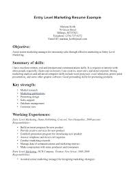 Marketing Resume Template – Onairproject.info