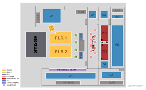 Fillmore Seating Chart The Fillmore Charlotte Seat Map Best Seat 2018