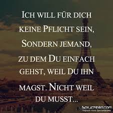 Ich Will Für Dich Keine Pflicht Sein Deutsch Macht Spaß Leben
