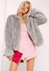 short faux fur coat collarless short faux fur coat grey short faux fur coat black short faux fur coat next