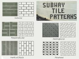 Subway Tile Patterns Kitchen Subway Tile Pattern Design Decorating 102942 Kitchen Design