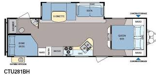 coleman travel trailers floor plans. 2014 dutchmen colemanexplorer · floorplan - rv coleman explorer ctu281bh travel trailers floor plans o