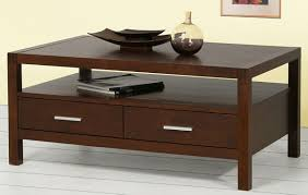 coffee tables enchanting dark rectangle modern wood coffee table with drawer ideas hi res