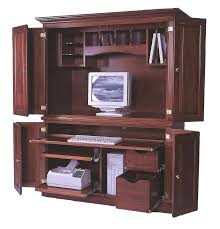 armoire office desk. Armoires: Armoire For Computer Deluxe Desk Uk: Office