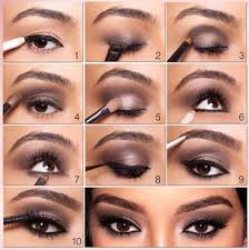 get the kim kardashian style smokey eyes look thelosangelesfashion smokey eye makeup tutorialeye
