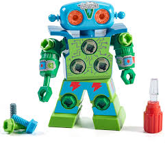 Design And Drill Robot Educational Insights Design Drill Robot Kid Powered Introduction To Stem For Preschoolers Great Gifts For Boys Girls 3