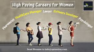 Best Careers For Women Best Careers For Women Career Advice Tips High Paying